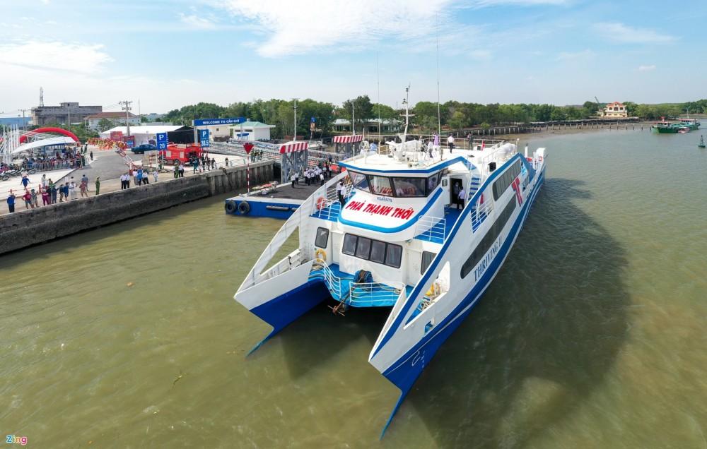 Tuyến phà biển Cần Giờ - Vũng Tàu chính thức đi vào hoạt động