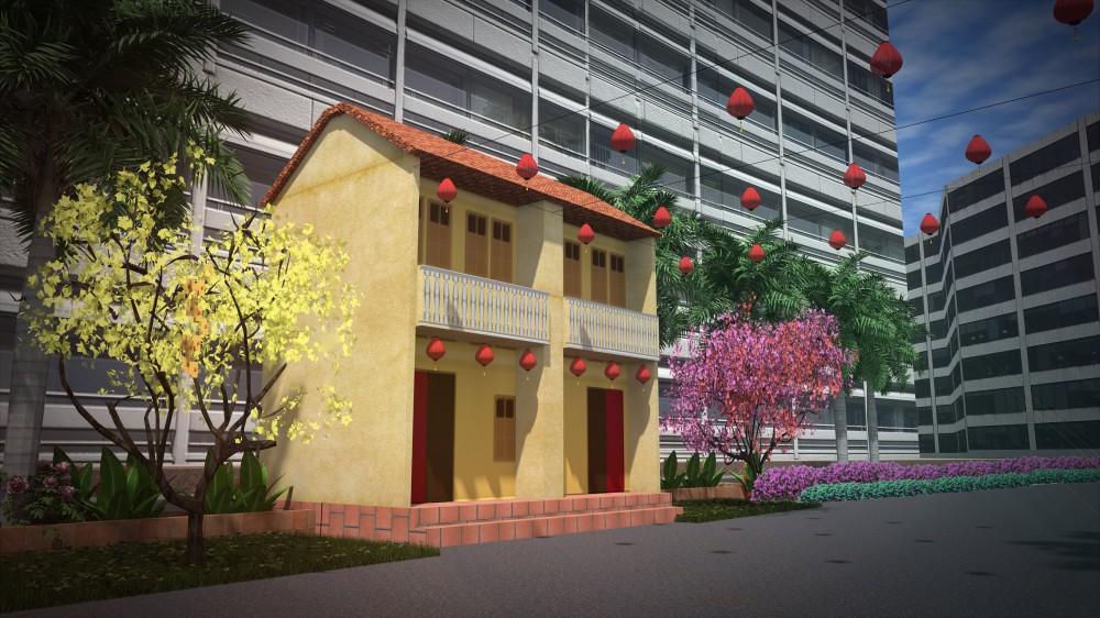 Hội hoa xuân Phú Mỹ Hưng Tết Tân Sửu 2021 vẫn được tổ chức với quy mô vừa phải để phòng dịch Covid