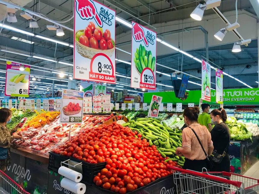 Các siêu thị tăng cường thu mua nông sản của tỉnh Hải Dương