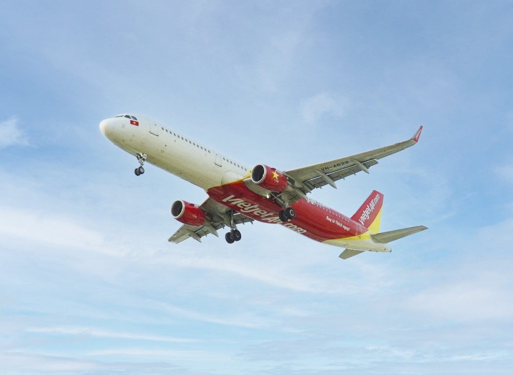 Vietjet mở 5 đường bay mới đến Phú Quốc