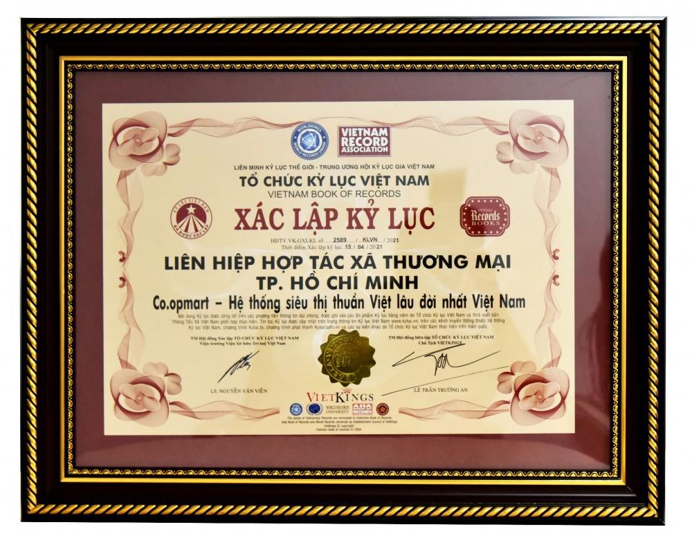 Co.opmart là hệ thống siêu thị thuần Việt lâu đời nhất Việt Nam