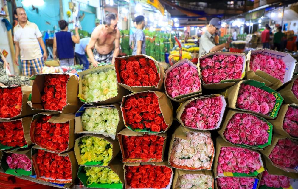 Chợ hoa Đầm Sen mở cửa 3 ngày Tết Đoan Ngọ giúp tiêu thụ hoa cho nông dân Lâm Đồng