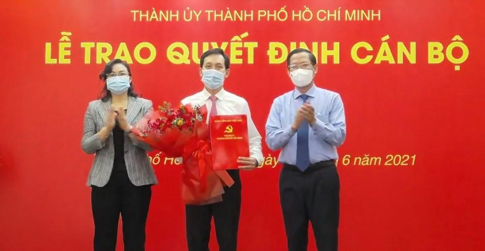 Chủ tịch UBND Quận 10 Vũ Anh Khoa làm Bí thư Đảng ủy Saigon Co.op