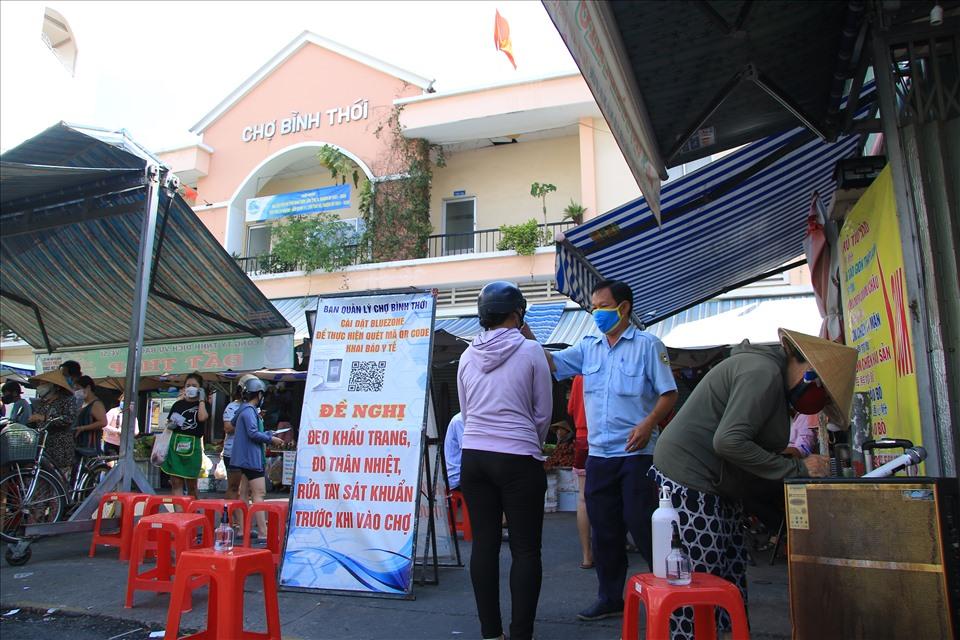 Danh sách 40 chợ đang mở cửa ở TP.HCM