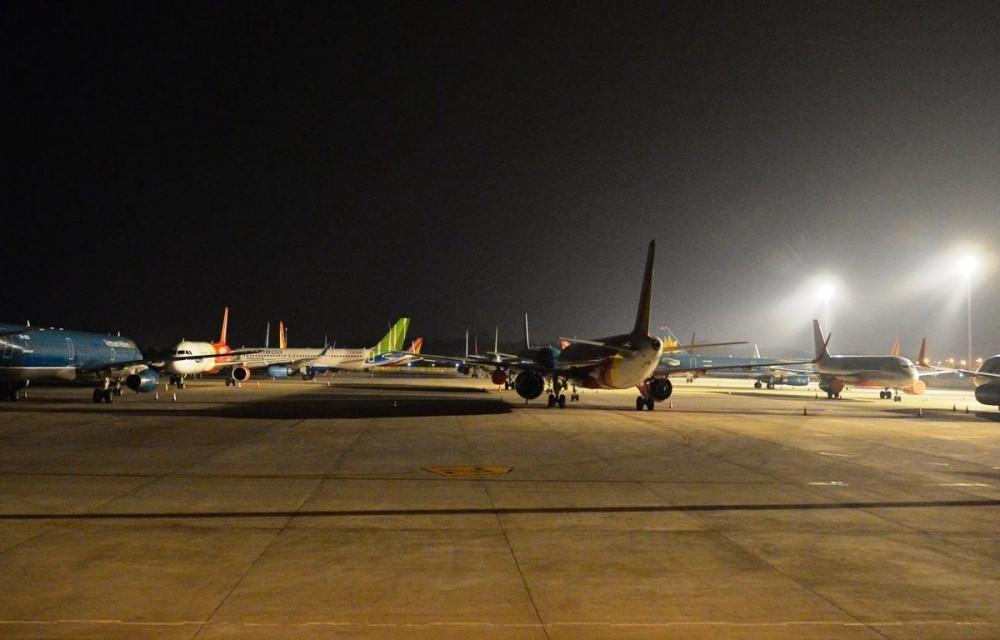 Lượng khách đi máy bay trong tháng 8.2021 giảm gần 99% so với cùng kỳ năm trước